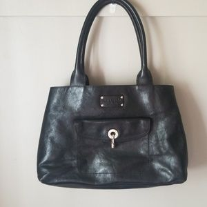 Kate spade leather tote style shoulder bag